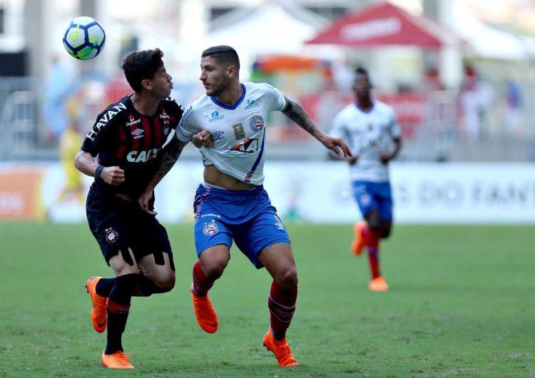 Ataque falha e Bahia apenas empata com o Atlético-PR