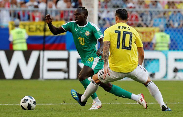 Mina volta a marcar e Colômbia derrota o Senegal
