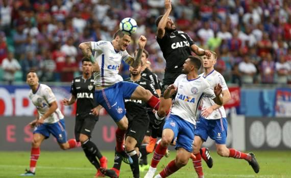 Bahia arranca o empate com o Atlético-MG no último minuto
