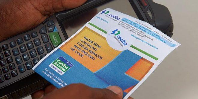 Coelba faz acordo para manter pagamento de faturas em casas lotérias