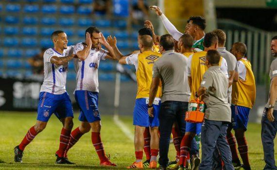 Bahia vence a primeira partida fora de Salvador no Brasileiro