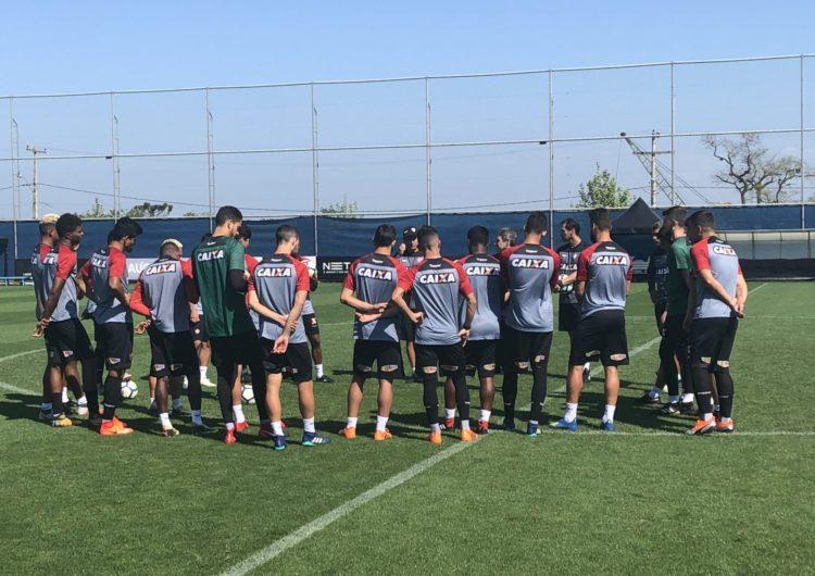 Vitória encerra preparativos para enfrentar o Inter