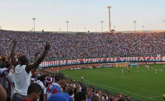 Bahia faz promoção na despedida do Brasileiro