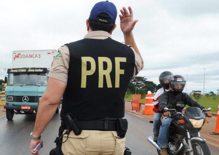 PRF registra 1.166 acidentes no feriado do Natal
