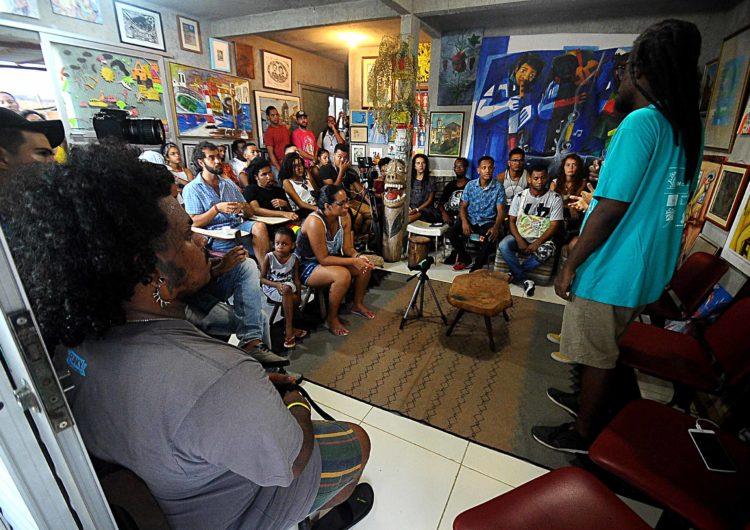 Roda de conversa marca abertura do Festival de Graffiti Bahia de Todas as Cores
