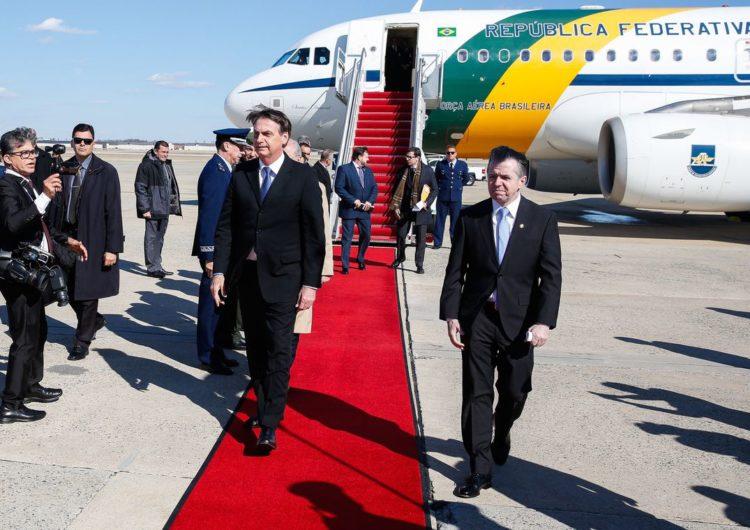 Bolsonaro tem reuniões com empresários nos Estados Unidos