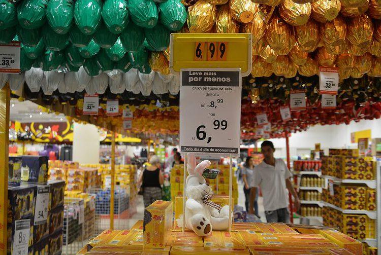 CNC projeta alta de 1,5% para as vendas da Páscoa