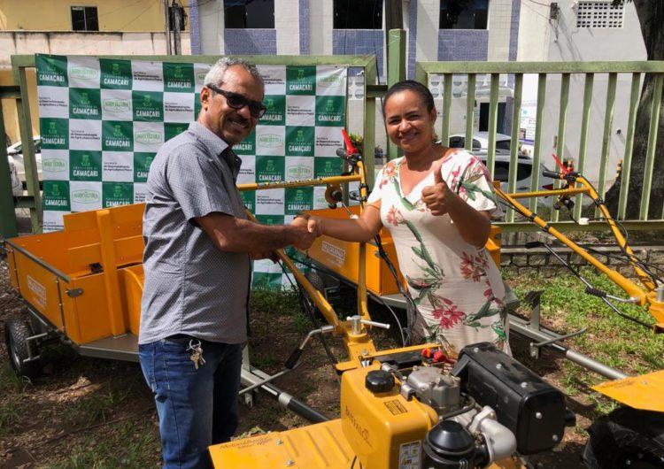 Prefeitura adquire motocultivadores opara auxiliar na produção agrícola