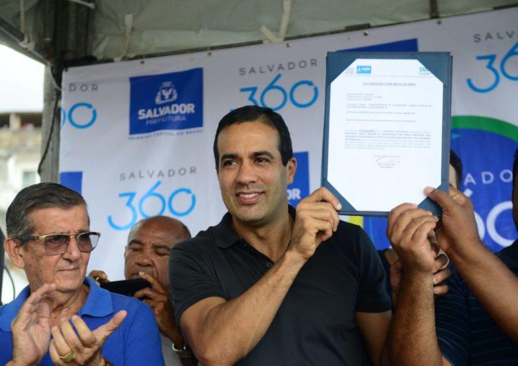 Prefeitura inicia obras em encostas de Plataforma e Pau Miúdo