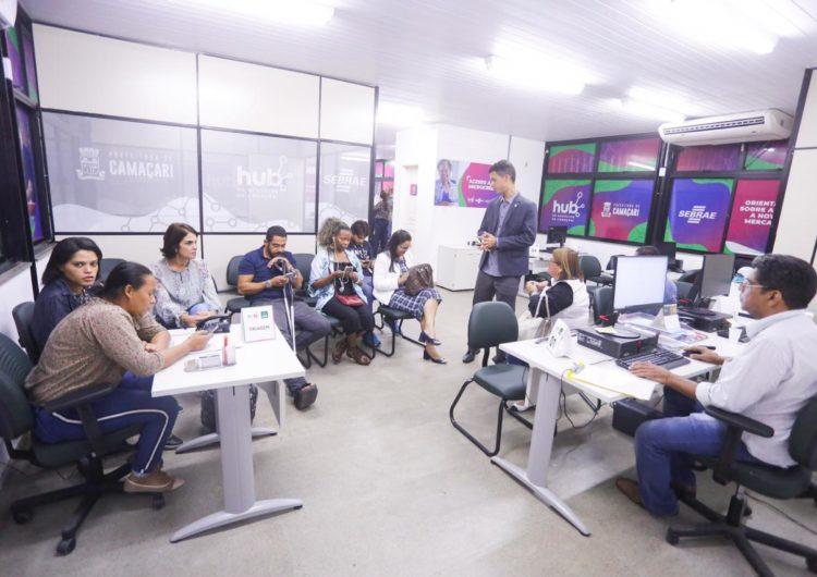 Central do Empreendedor é inaugurada em Camaçari