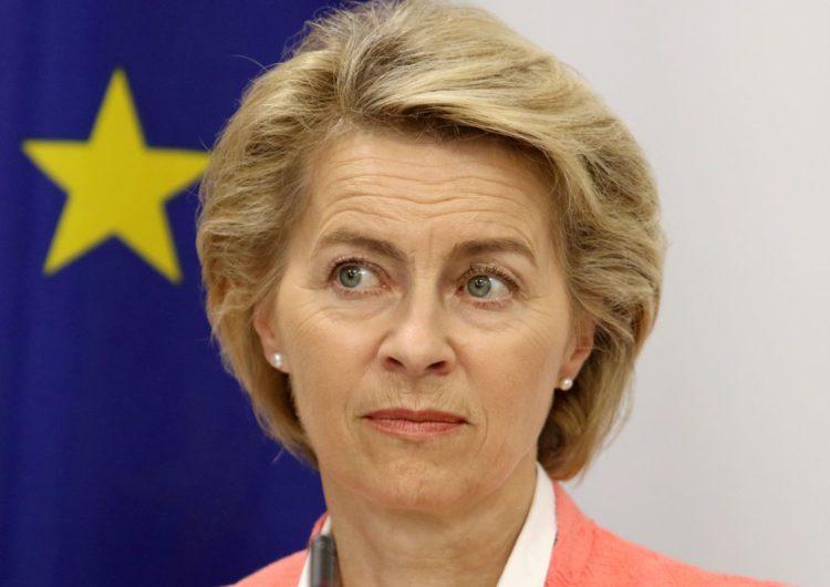 Ursula Leyen busca votos para a presidência da Comissão Europeia