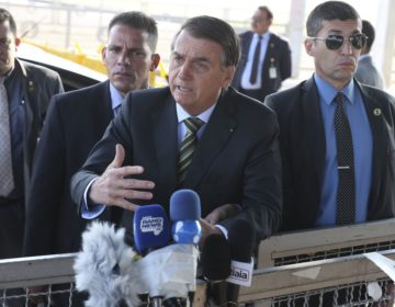Bolsonaro diz que aumento das queimadas na Amazônia pode ser ação criminosa
