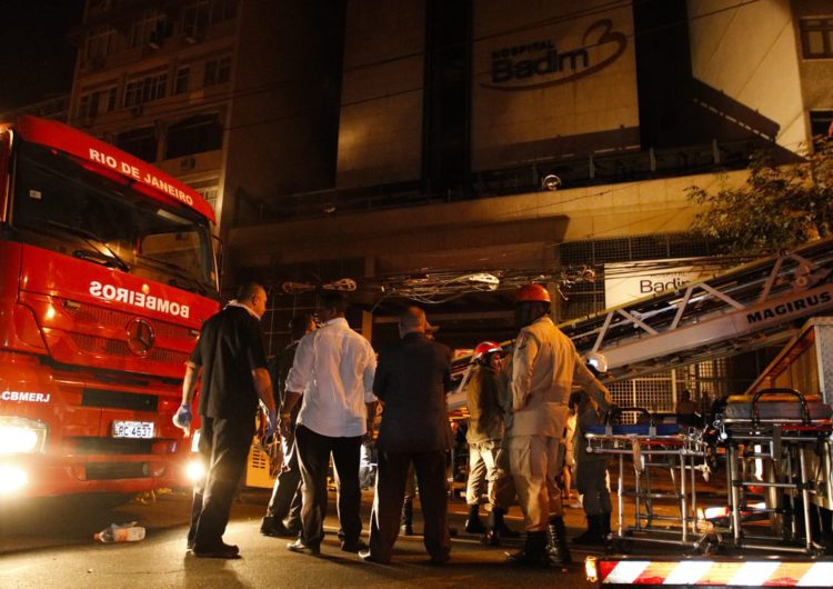 Perícia confirma que incêndio começou em gerador de hospital